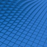 3d cube abstraction background. 3d blue cube abstraction background Stock Photo