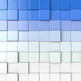 3d cube abstraction background Stock Photo