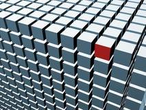 3D cube array Royalty Free Stock Photo