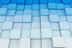3d cube background Royalty Free Stock Photo