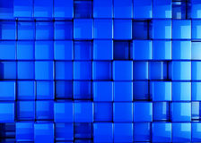 3D Cube Cubes Box. Boxes Background Stock Photo