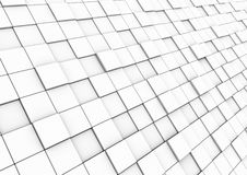 3d cube wall area Royalty Free Stock Photo