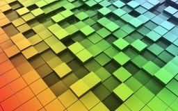 3d cubes движение Стоковое Изображение RF