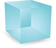 3d cubes просвечивающее Стоковое Изображение