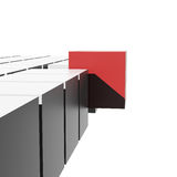 3d cubes различный элемент иллюстрация штока