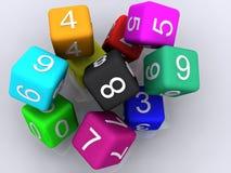 3d cubes резина бесплатная иллюстрация