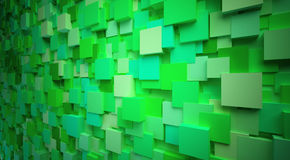 3d cubes. Abstract 3d cubes box background from visualife Royalty Free Stock Photo