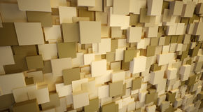 3d cubes. Abstract 3d cubes box background from visualife Royalty Free Stock Photos