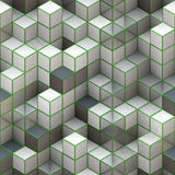 3d cubes Stock Photos