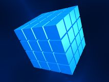 3d cubes Royalty Free Stock Photos
