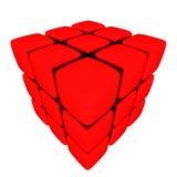3d Cubes Stock Photography