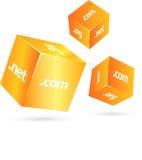 3d cubes Stock Image