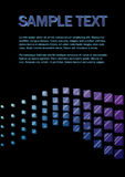 3D cubes background Royalty Free Stock Photography