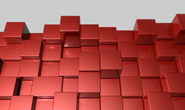 3d Cubes Background Stock Images