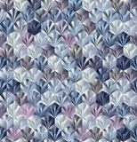 3d cubes seamless pattern. Royalty Free Stock Image