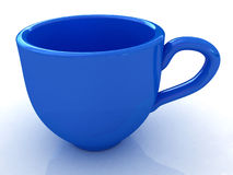 3d cup Royalty Free Stock Photos