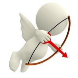 3D Cupid Royalty Free Stock Photo