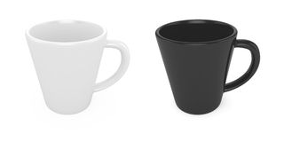 3d Cups Royalty Free Stock Photos