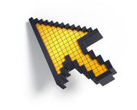 3d cursor Stock Photos