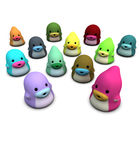 3d cute creature monster character in happy color Stock Photo