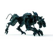 3d cyber myśliwego pantera dzika Zdjęcie Royalty Free