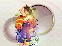 3d dancer illustration Stock Images