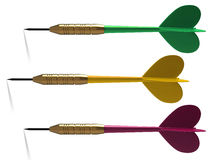 3d dart. Royalty Free Stock Photos