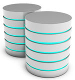 3d database servers Stock Images