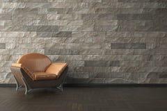 3D de alta resolução rendem o interior Fotografia de Stock