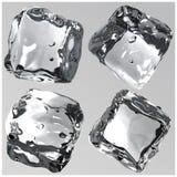 3d de ijsblokjes geven terug Royalty-vrije Stock Fotografie