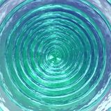 3D-Deep sparkling whirlpool Royalty Free Stock Image