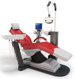 3d dentist chair Royalty Free Stock Photo