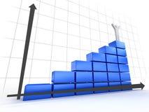 3d Diagram Stock Fotografie