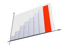 3d diagram Royalty-vrije Stock Foto's