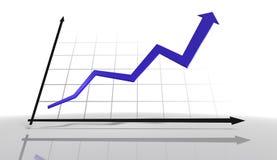 3d Diagram Royalty-vrije Stock Fotografie