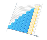 3d diagram Royalty Free Stock Image