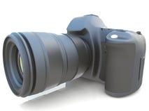 3D digital photo camera Royalty Free Stock Images