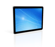 3D digital tablet pc Royalty Free Stock Images