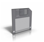 3d diskette Royalty Free Stock Images