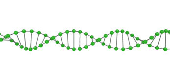 3d DNA Stock Photo