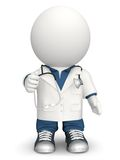 3D doctor Stock Photo