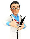 3D doctor Stock Photos
