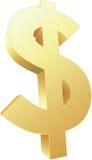 3d dolar Zdjęcia Stock