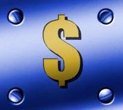 3D dollar Royalty-vrije Stock Foto's