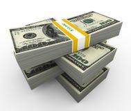 3d dollar bill Royalty Free Stock Image