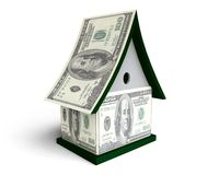 3D Dollar Cottage Stock Photos