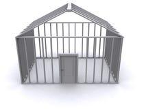 3D dom obrazy stock