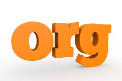 3d domain. The best-known domains, 3d format Stock Photography