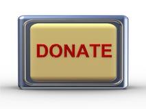 3d donerar Fotografering för Bildbyråer