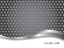 3d Dotted background. In gray color vector illustration